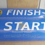 balon karakter gate start finish