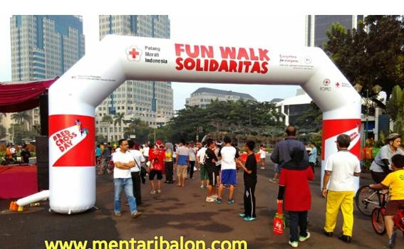 Jual Balon gate / balon start finish