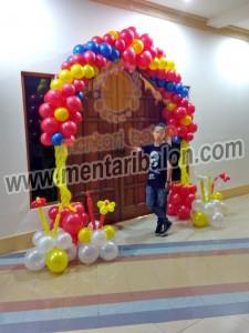 balon dekorasi gate
