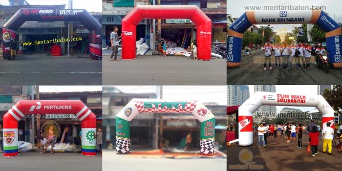 BALON GAPURA START FINISH | Jual dan sewa Jakarta, Tangerang, Jogjakarta, surabaya, Semarang