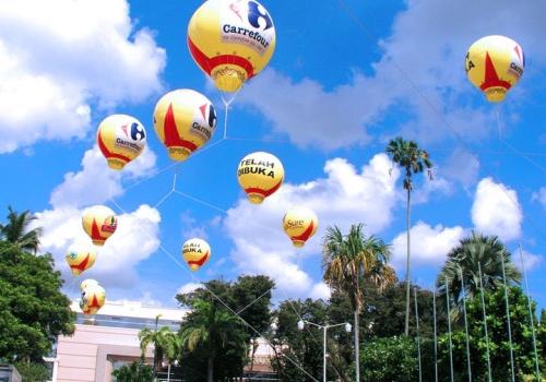 Balon gas udara, balon oval, balon kotak, balon zeppelin, balon terbang