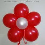 bunga balon merah putih