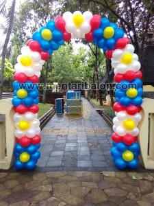 gate dekorasi balon