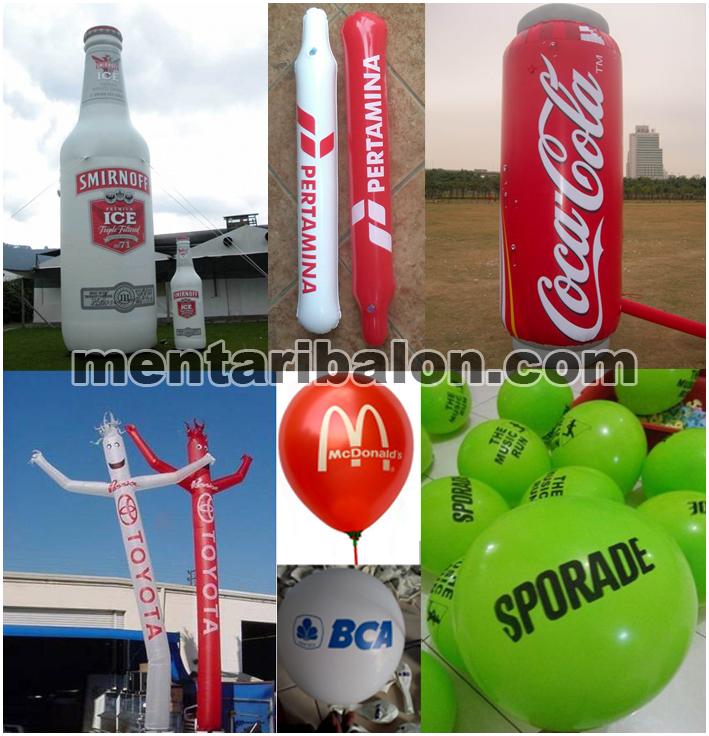 aneka produk balon promosi atau balon iklan