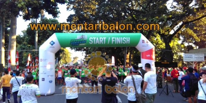 balon gate bogor heritage run | mentari balon