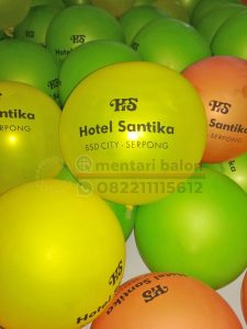 balon sablon hotel santika