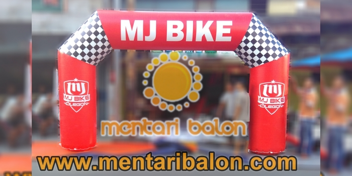 BALON GATE DOWNHILL RACE MJ BIKE DI CIKOLE LEMBANG BANDUNG | MENTARI BALON