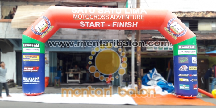 SUPPLIER BALON GATE MOTOCROSS / BALON START FINISH LAMPUNG
