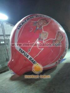 balon udara papua