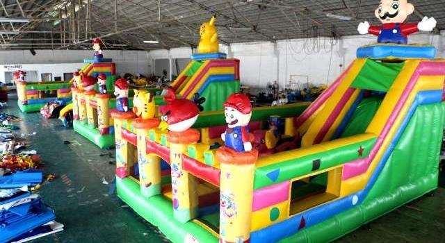 Jual balon loncat , istana balon , rumah balon , kolam balon harga murah | mentari balon