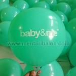 balon sablon baby & me