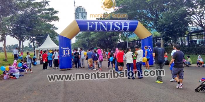 Jual balon gate murah, balon gapura / balon start finish diseluruh indonesia