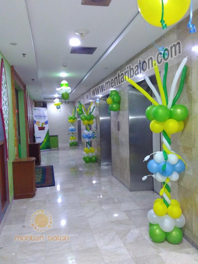 balon dekorasi kantor bpjs