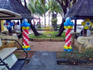 balon dekorasi out door