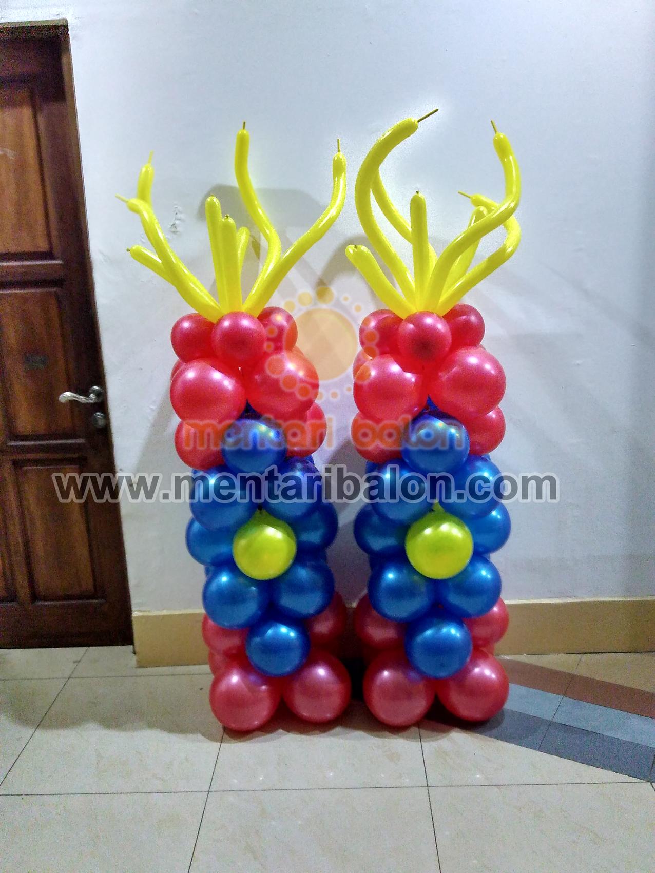 balon dekorasi standing