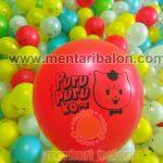 balon sablon dekorasi