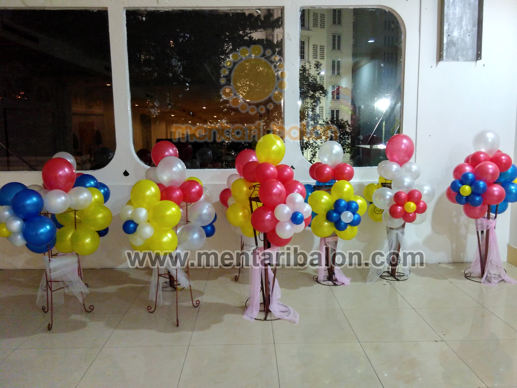 bunga balon dekorasi