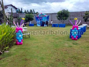 balon dekorasi taman