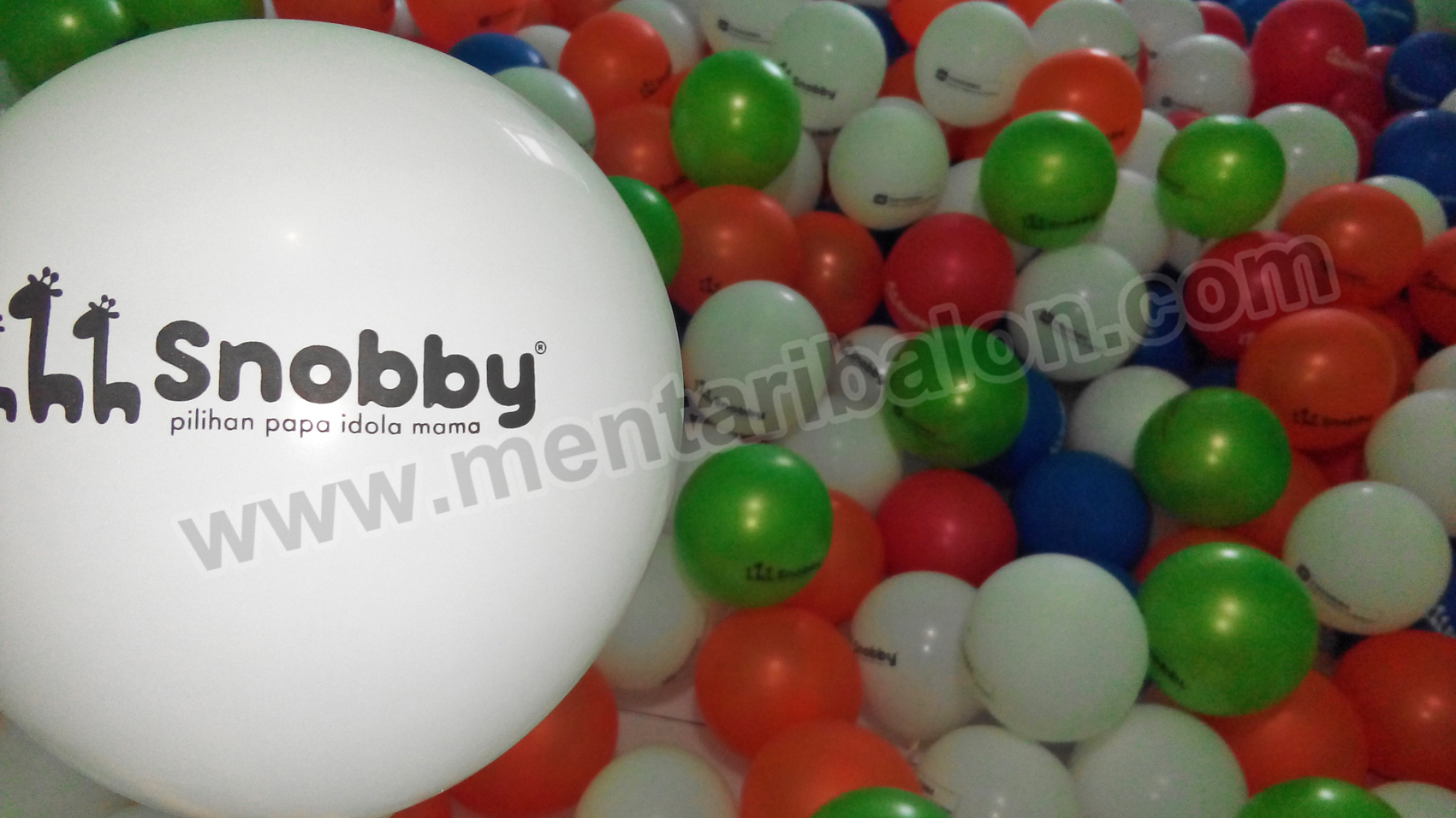 balon print snooby