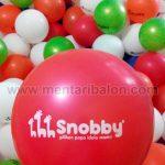 balon sablon snooby