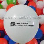 balon sablon toserba