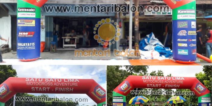 Jual Dan Sewa Balon Gate | Balon Start Finish atau Balon Gapura Di Jakarta