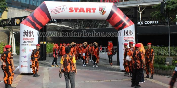 Balon Gate Jalan Sehat Pemuda Pancasila