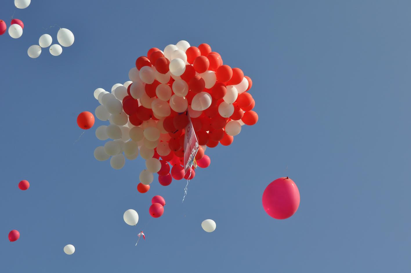 balon pelepasan mudik bareng