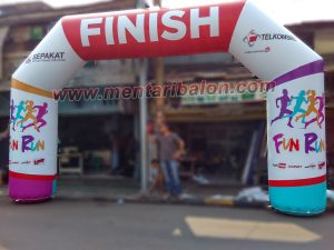 balon gate fun run