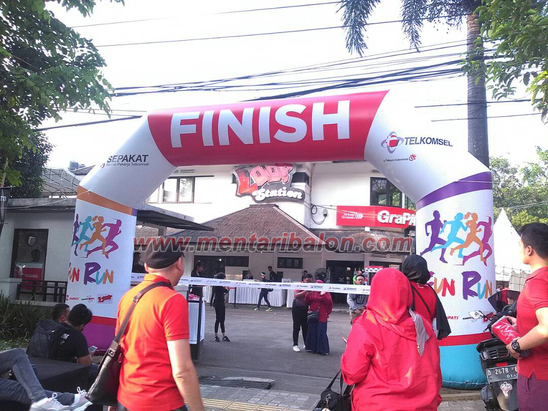 balon gate loop fun run