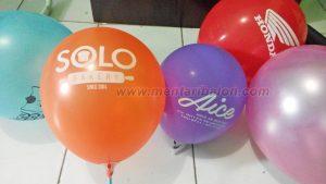 balon sablon solo
