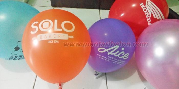 Balon Sablon Solo, Klaten, Jogja, Semarang | 082211115612