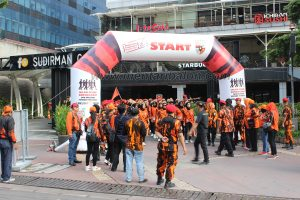sewa balon start finish