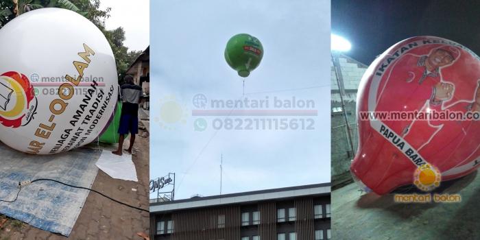 Balon Promosi Murah / Balon Udara Promosi / Balon Iklan Murah