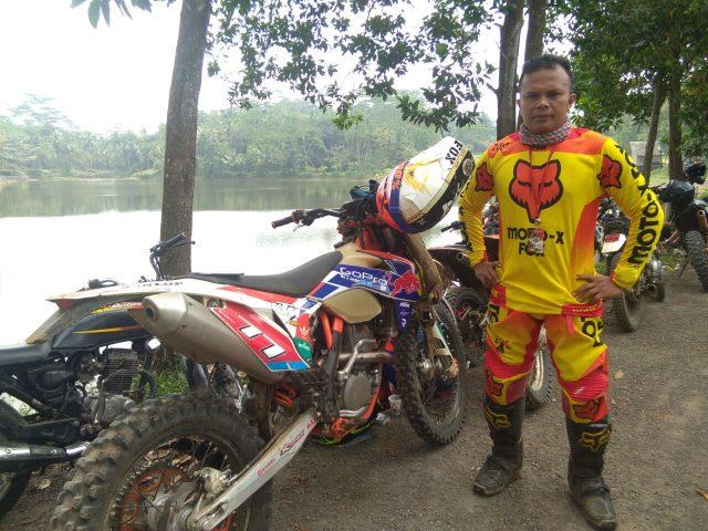 Puas ikut event motor trail Trabas Merdeka XV
