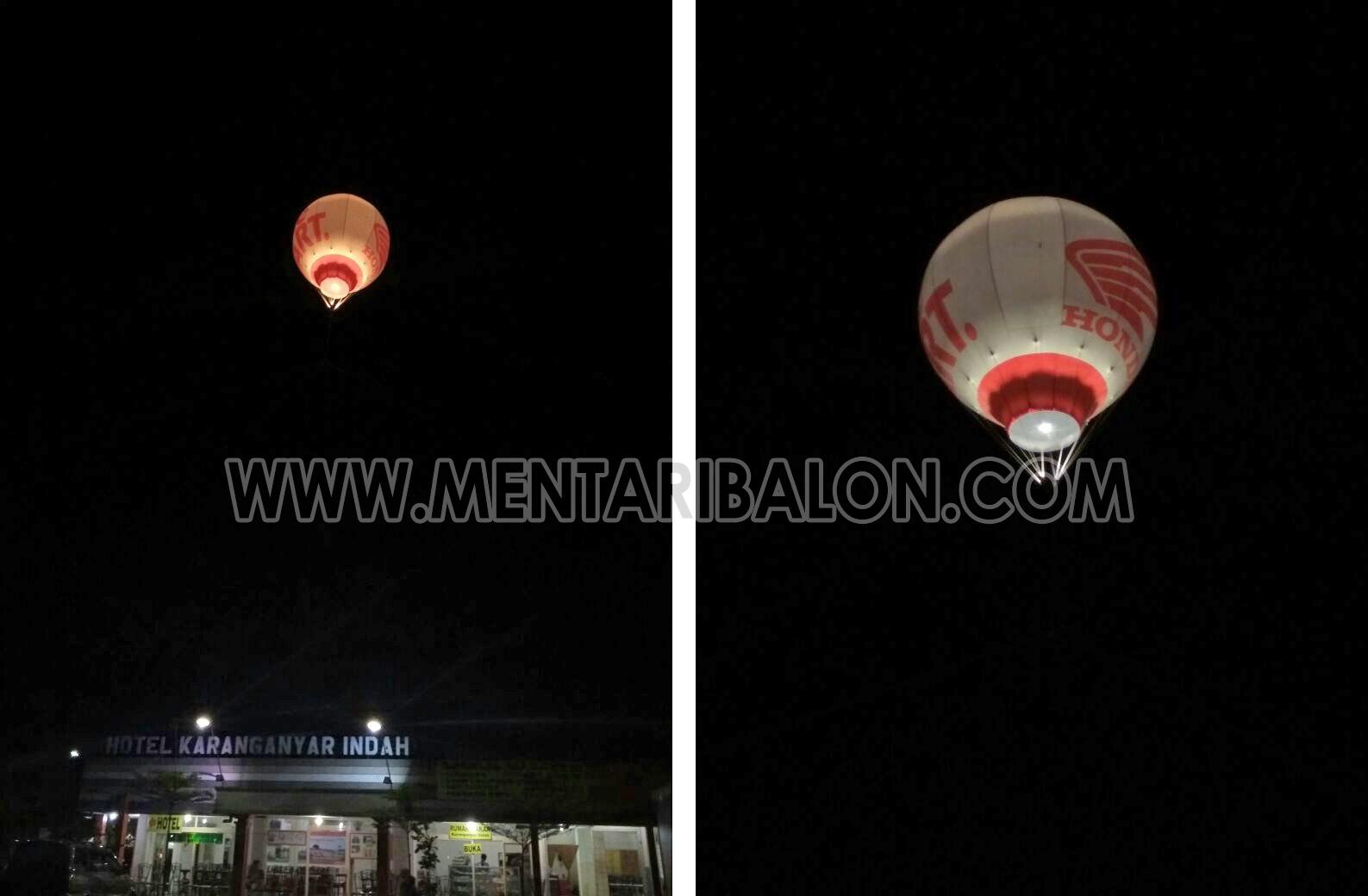 sewa balon udara promosi