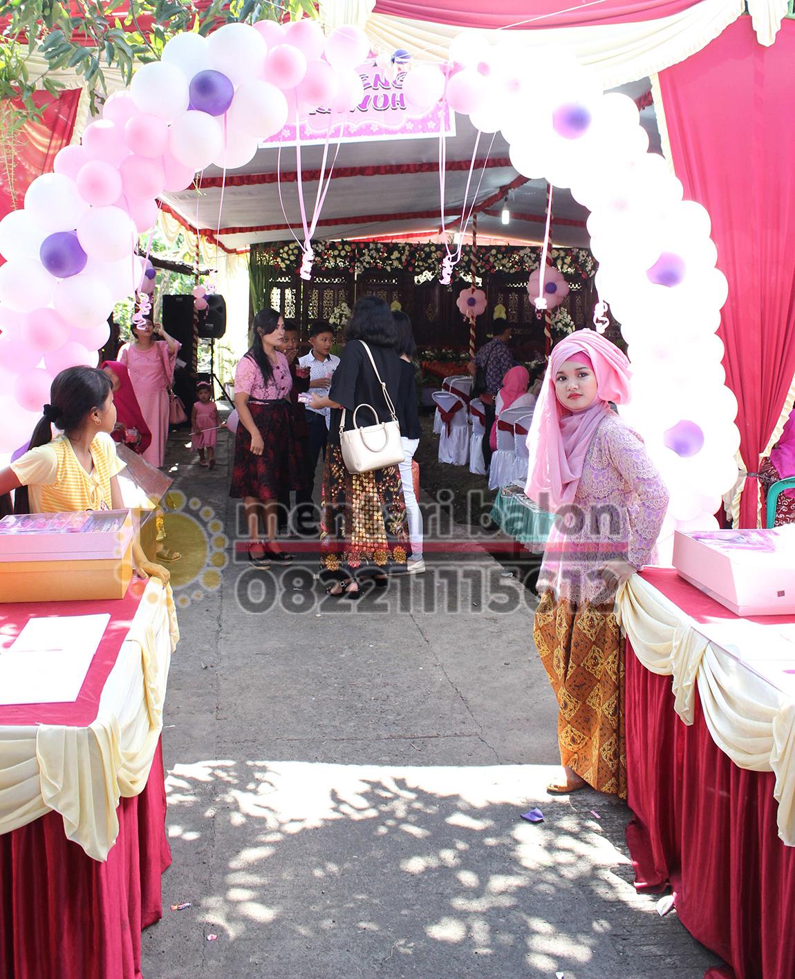 balon dekorasi pernikahan