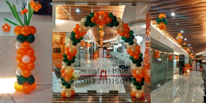 Balon Dekorasi Tangerang, Jakarta, Bekasi, Depok, Bogor