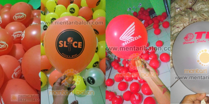 Supplier Balon Sablon Jabodetabek / Balon Print Jabodetabek