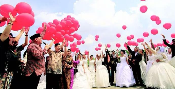 Jasa Dekorasi Balon Pernikahan / Wedding di Jabodetabek & Jateng