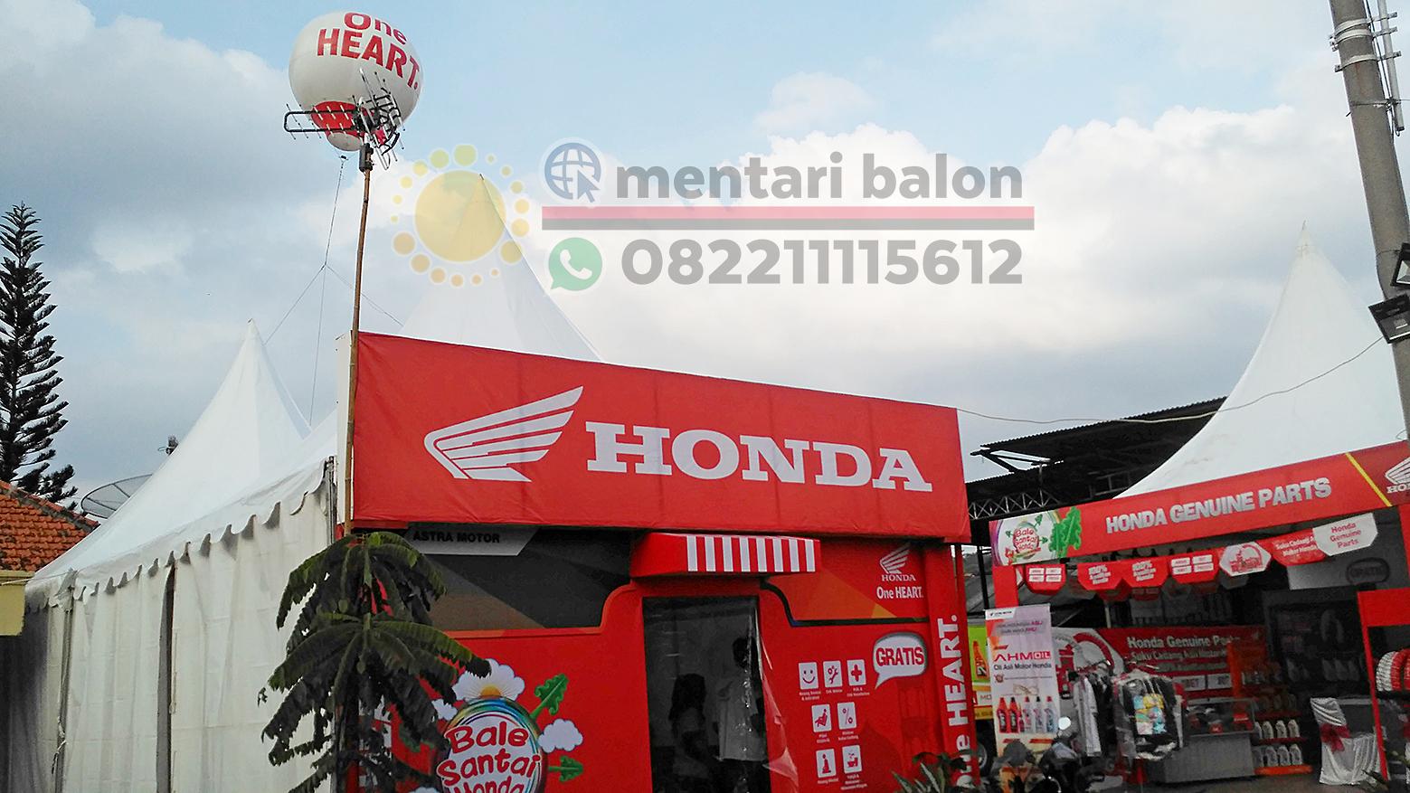 tenda dan balon promosi honda