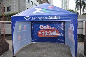 tenda promosi xl