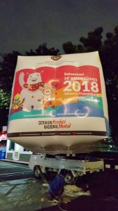 asian games balon udara