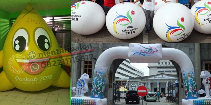 Balon Sea Games & Balon Asian Games Jakarta – Palembang