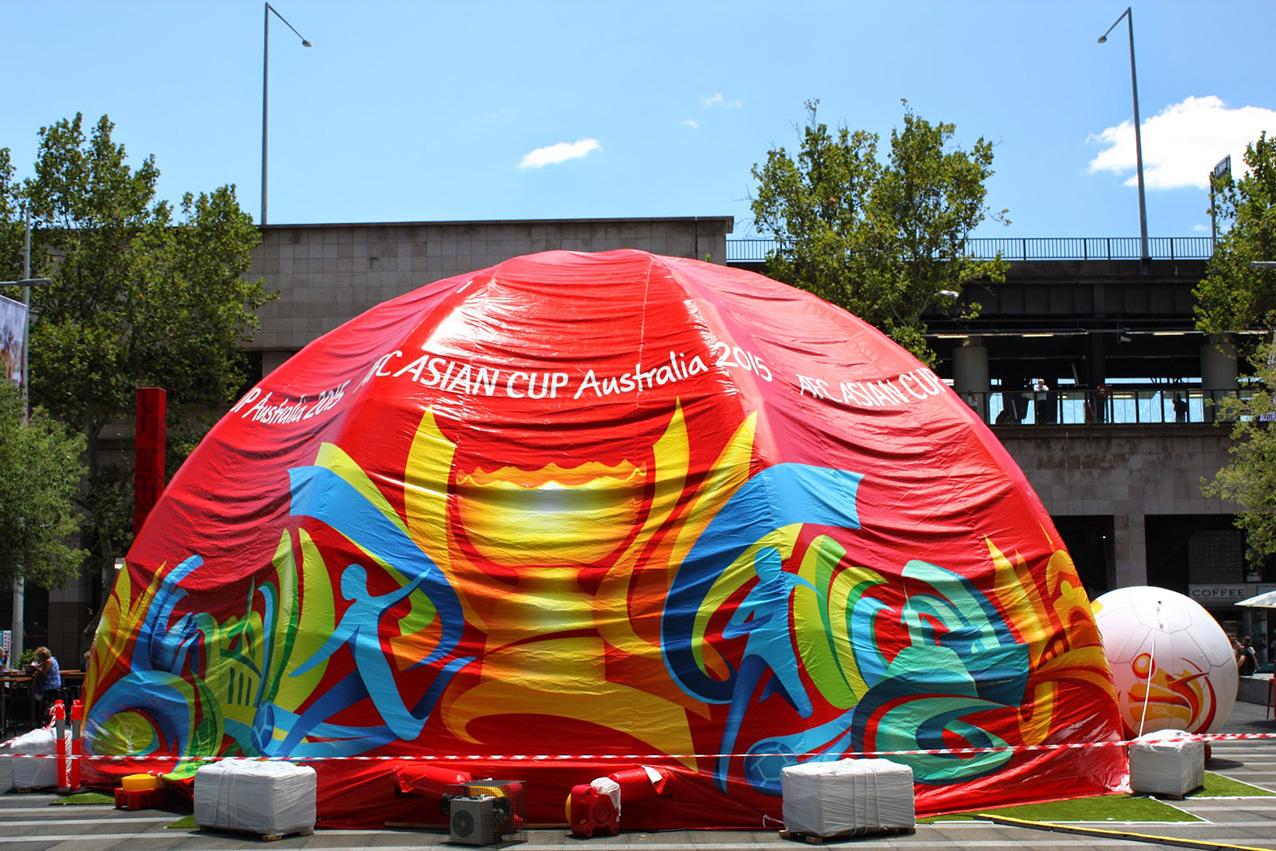 balon tenda Asian Cup
