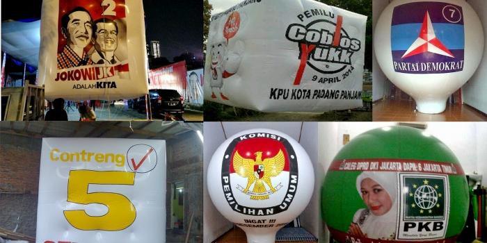 Balon Udara Pemilu Pilkada Pilpres