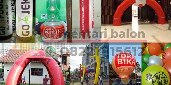 Advertising Balon No. 1 Di Indonesia | Mentari Balon
