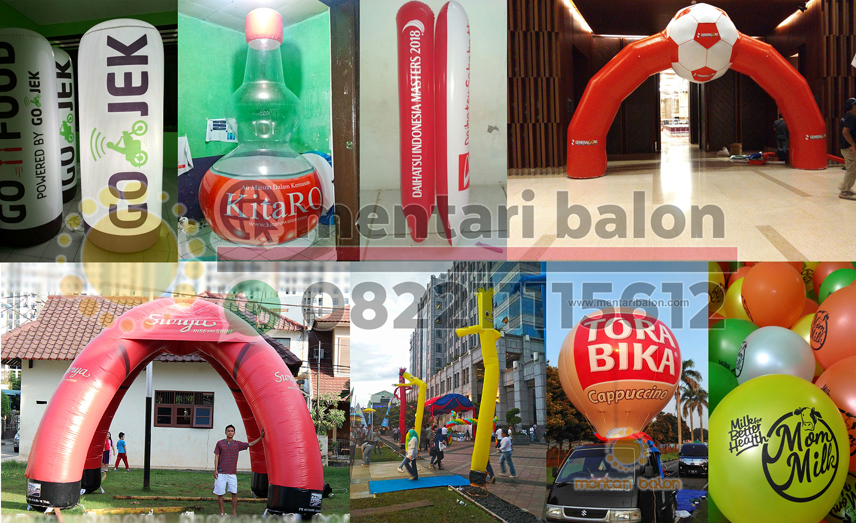 advertising balon promosi