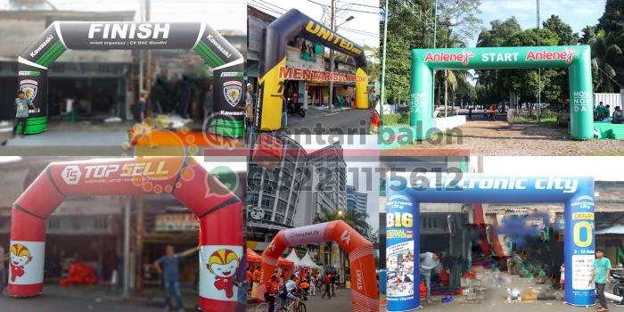 Balon Gate Promosi / Balon Gate Toko / Balon Gate Dealer Unik