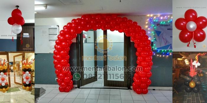 Dekorasi Balon Imlek Murah , Balon Dekorasi Gong XI Fa Cai | Mentari Balon